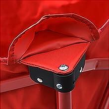 キャンパーズコレクション エブリデイキャリー 張り材はドライバで着脱可能