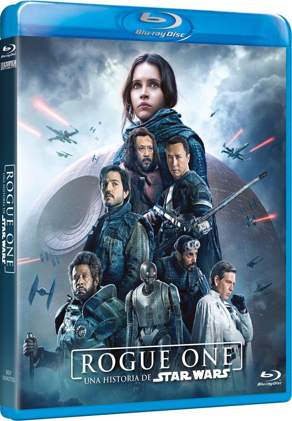 Rogue One: Una Historia De Star Wars [Blu-ray]: Amazon.es