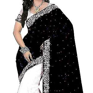 Market Magic World Women's Embroidered Saree