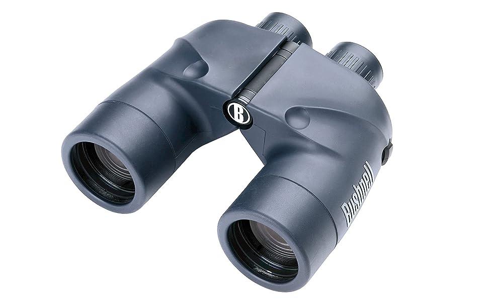 Braun marine prismáticos 7x50 impermeable con iluminadas brújula y schwimmgurt