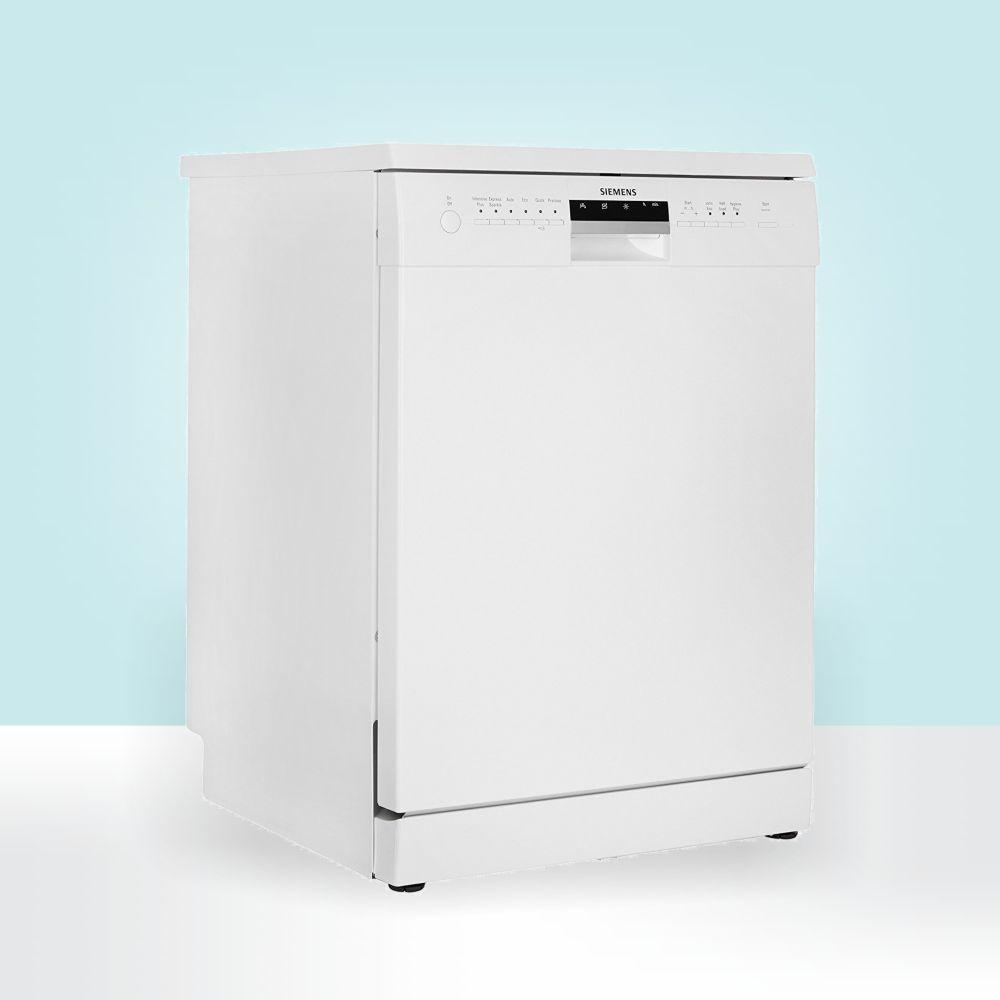 siemens free standing 12 place settings dishwasher sn26l201in white home kitchen. Black Bedroom Furniture Sets. Home Design Ideas