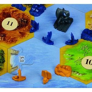 カタンの開拓者たち 航海者版 (Die Siedler von Catan: Die Seefahrer. Erweiterung) ボードゲーム