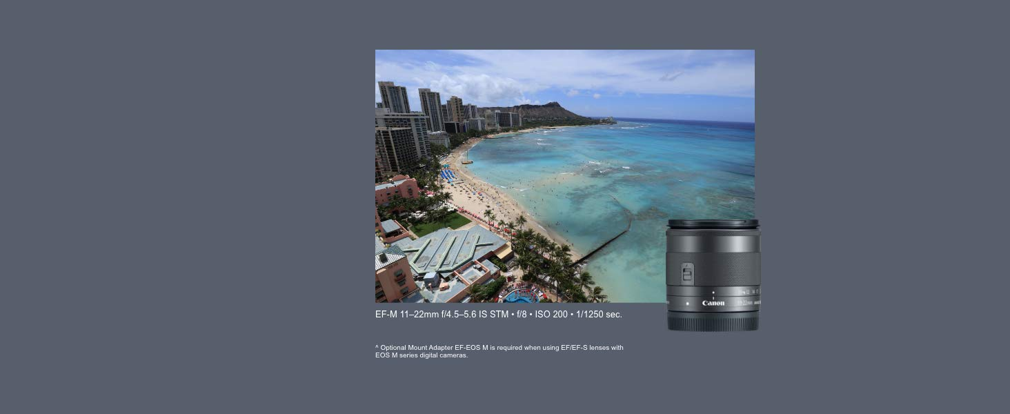 Canon M100 EF-M 15-45mm f/3.5-6.3 IS STM Mirrorless Camera