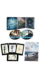【Amazon.co.jp限定】ミス・ペレグリンと奇妙なこどもたち 3D & 2D ブルーレイセット スチールブック仕様 (A3サイズポスター+ポストカードセット付き)