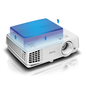 BenQ Full HD 3D Projector , DLP , White , MS527