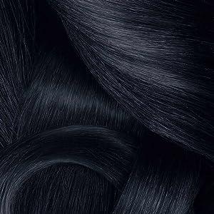 Azalea Total Tinte Capilar Permanente, Color Negro Azul Intenso - 224 gr