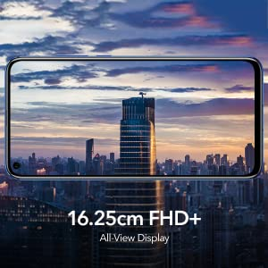 honor v20 all view display