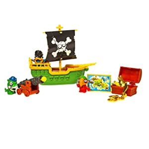 ZOMLINGS- Blíster Pirata Barco, Color Verde (Magic Box INT Toys P00992): Amazon.es: Juguetes y juegos