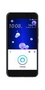 HTC U 11 Dual SIM - 128GB, 6GB RAM, 4G LTE, Sapphire Blue