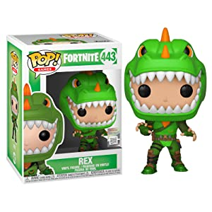 Funko- Pop Vinyl: Fortnite: Rex Figura Coleccionable, Multicolor, Talla Única (34957)