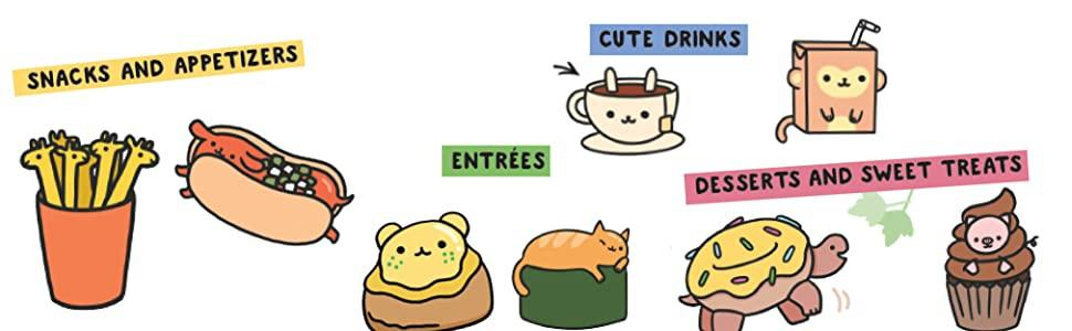 Kawaii How To Draw Really Cute Food Angela Nguyen 9781782218081 Amazon Com Books Art projects for kids and the whole family! kawaii how to draw really cute food