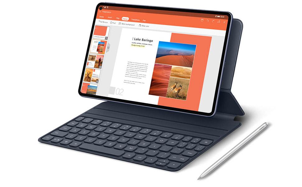Huawei MatePad Pro Tablet - 10.8 Inch, 256GB, 8GB RAM, 4G - Midnight Grey