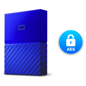 WD My Passport 4 TB Portable Hard Drive for PC