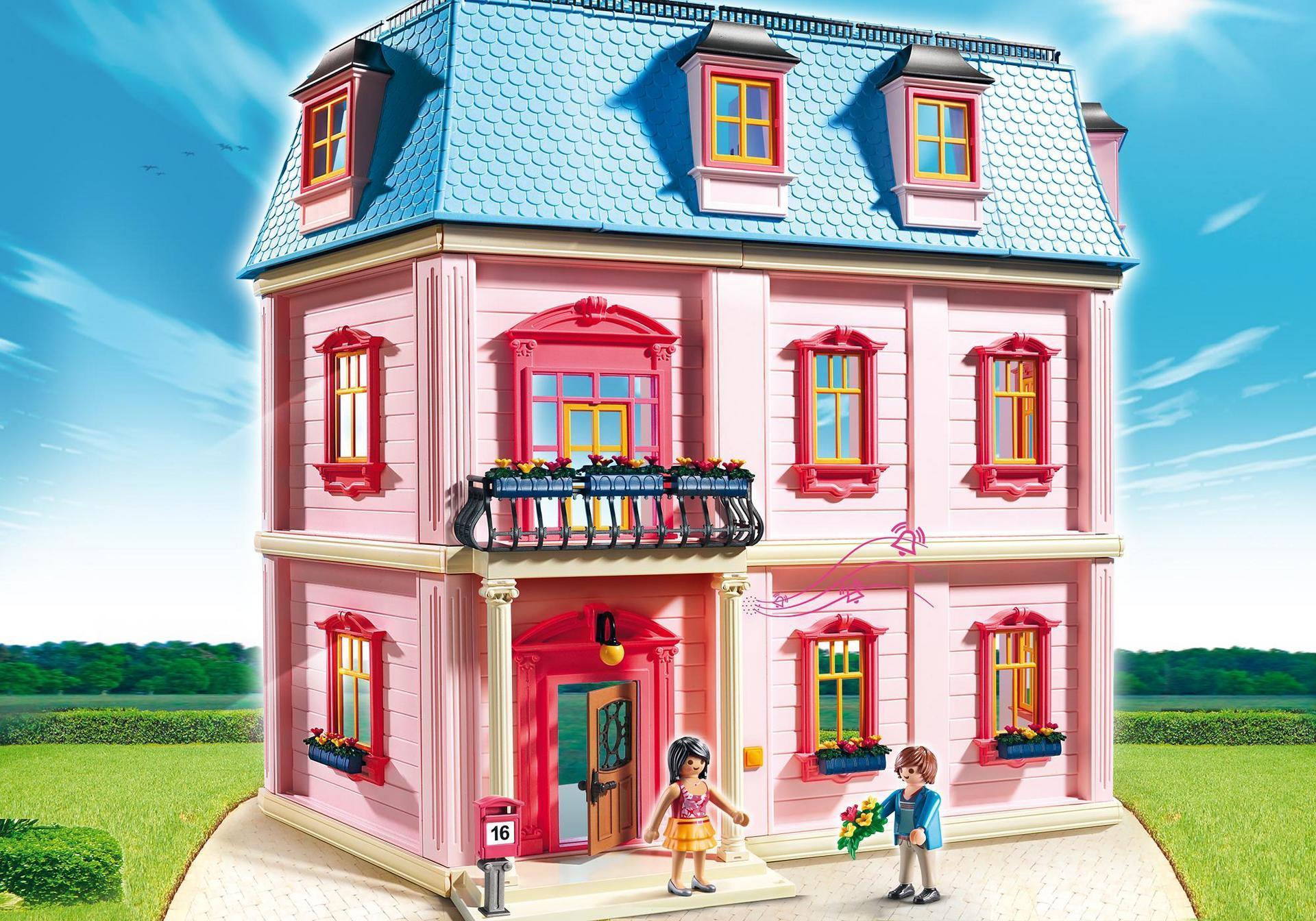 Amazon.es: Playmobil - Casa de muñecas romántica (53030): Juguetes y ...