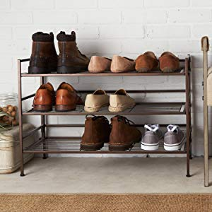 Amazonベーシック シューズラック 靴 収納棚 9足用