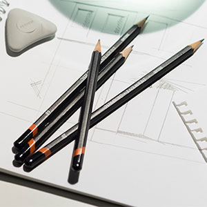 Derwent Graphic Full Set Graphite Pencils 9B-9H (Set of 24 ...