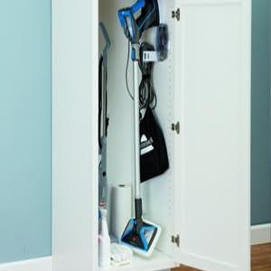 wall mounted cleaner, storage, kitchen storage