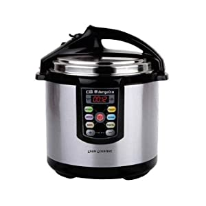 Orbegozo HPE 6075 - Olla a presión, capacidad 6 litros, acero ...