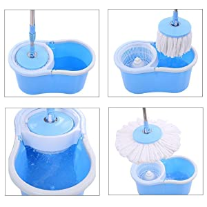 360 spin mop and bucket