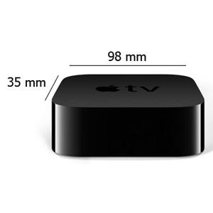 Apple TV 4K 32 GB, Black - MQD22
