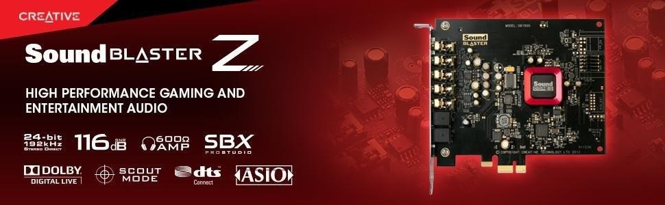 Creative Sound Blaster Z - Tarjeta de Sonido Interna