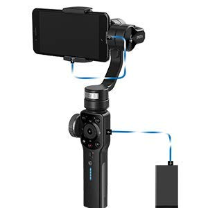 Zhiyun Smooth 4 Mobile Gimbal Stabilizer For Smartphones - Black (1000003472), Sm4B