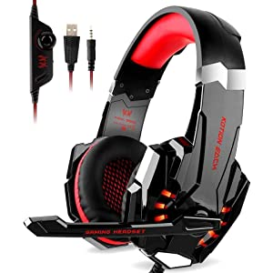 G9000 Stereo Gaming Headset for PS4, PC, Xbox One Controller, Noise Cancelling Over Eae