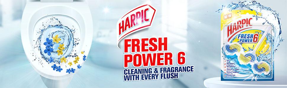 Harpic Fresh Power 6 Toilet Cleaner - Summer Breeze