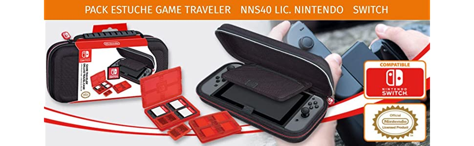 Ardistel - N-Switch Game Traveler Deluxe Case NNS40 (Nintendo Switch): Amazon.es: Videojuegos