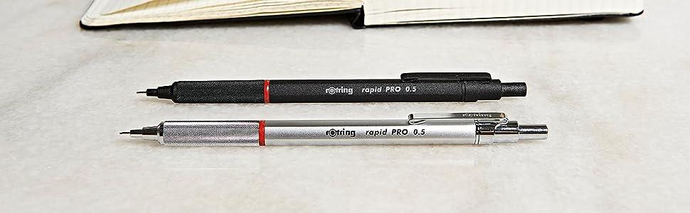 Rotring Rapid Pro HB portamina nera 2,0 mm