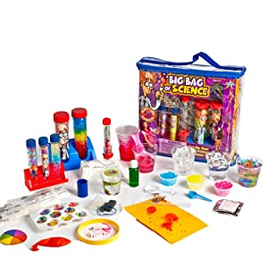 Ages 8-13: Be Amazing! Toys Big Bag of Science Works