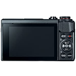 Canon G7X II Digital Compact Camera, 20.1 MP, Point and Shoot, Black