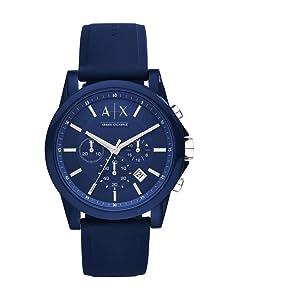 04ccfd759a8d Reloj de silicona Armani Exchange AX1327