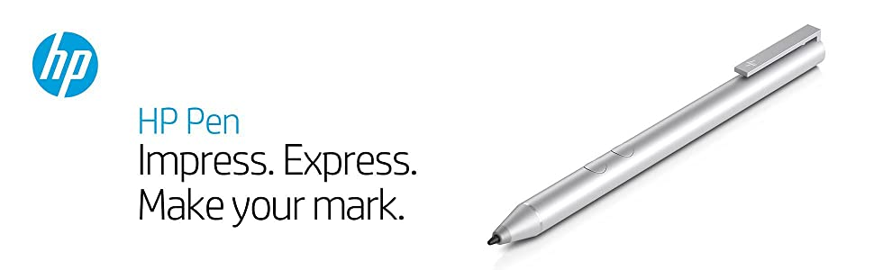 HP 1MR94AA Stylus Pen for Windows Inking Devices (Silver)