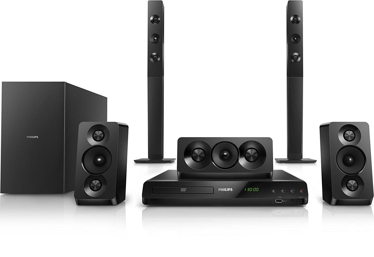 philips htd5550 94 home theatre electronics. Black Bedroom Furniture Sets. Home Design Ideas