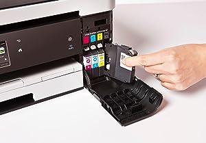 Brother MFCJ4420DW - Impresora multifunción de inyección color (35 ...