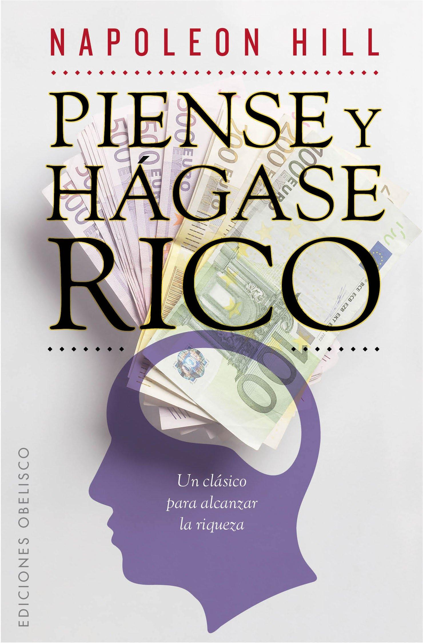 Piense y hágase rico (EXITO): Amazon.es: HILL, NAPOLEON