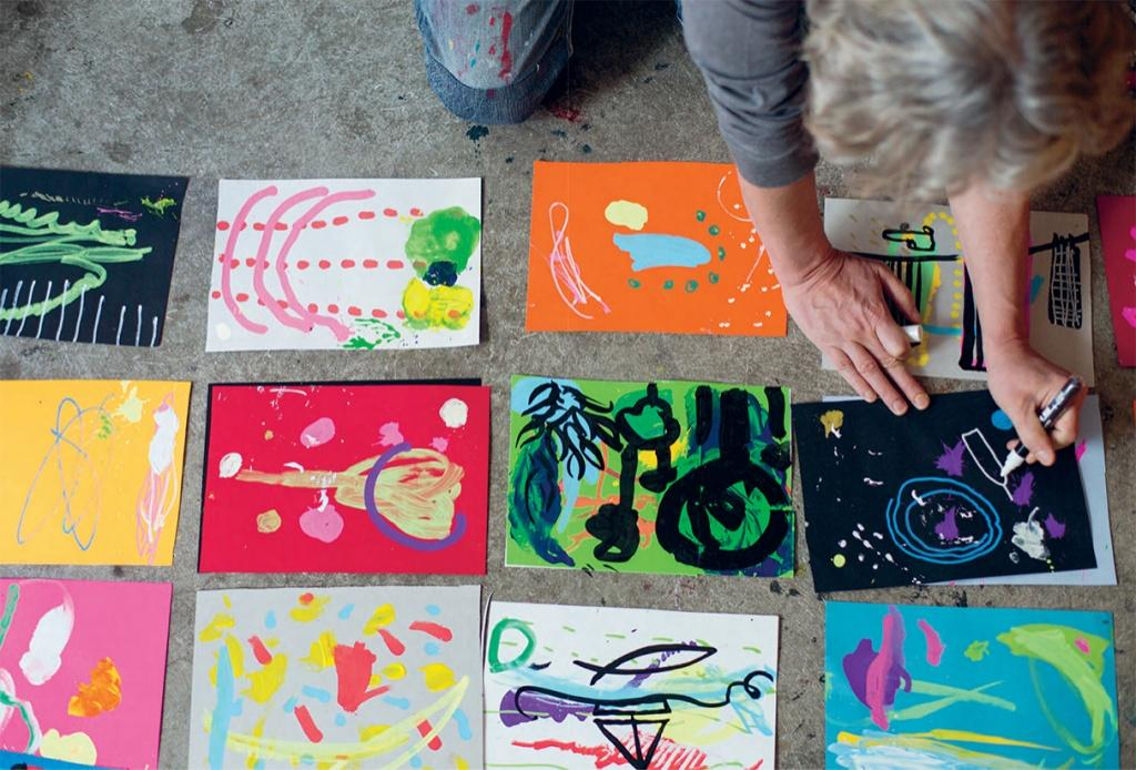 La fabbrica dei colori. I laboratori di Hervè Tullet