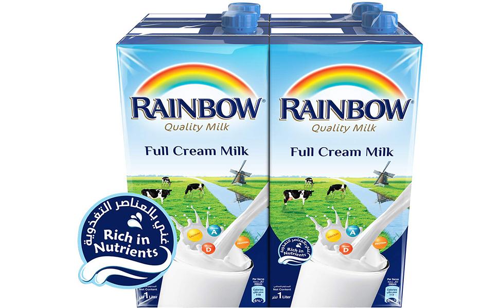 Rainbow Full Cream Milk