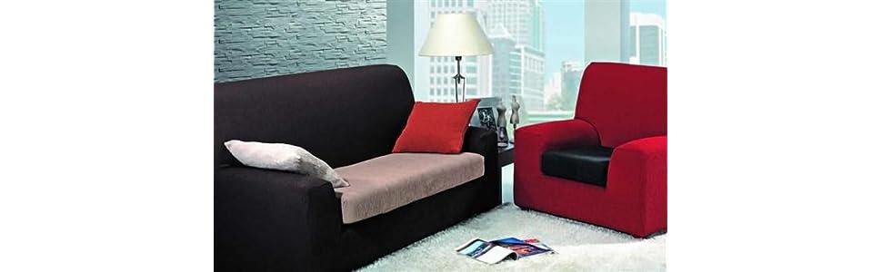 Casa Textil Fundas de Sofa, Beige, Una Una Plaza