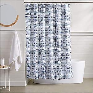 Amazon AmazonBasics Serene Shower Curtain Home Kitchen