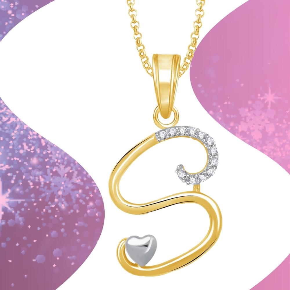 Buy meenaz crystal brass gold plated pendant necklace for women gold plated pendant necklace aloadofball Choice Image