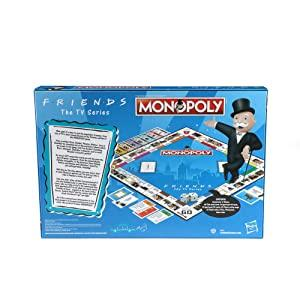 monopoly game; classic monopoly; friends sitcom; friends anniversary; board games for kids
