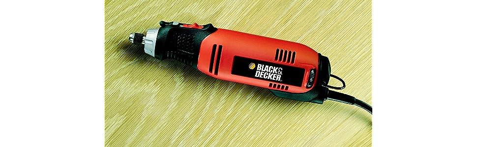 BLACK+DECKER RT650KA-QS - Multiherramienta oscilante, 90 W, con 87 accesorios y maletín: Amazon.es: Bricolaje y herramientas
