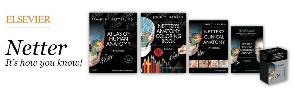 from the publisher - Netters Anatomy Coloring Book