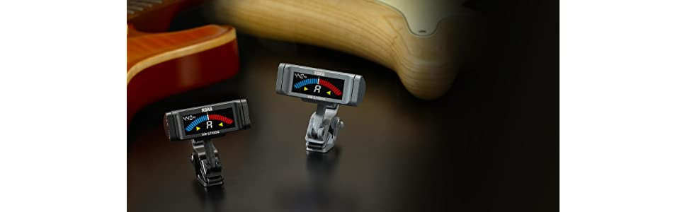 KORG 100時間連続駆動 ギター専用 クリップ式チューナー AW-LT100