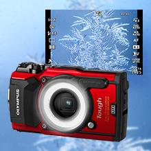 Olympus TG-5 - Cámara Digital (ultraresistente, Sumergible, vídeos ...