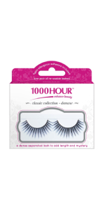 1000 HOUR Lashes, Demure Black