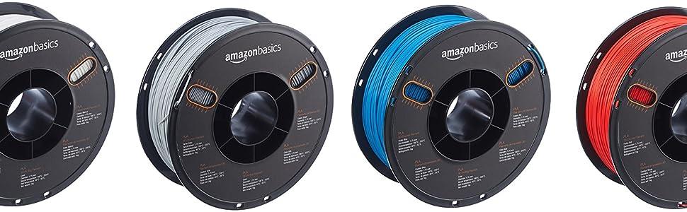 AmazonBasics PLA 3D Printer Filament,1.75mm: Amazon.es: Industria ...