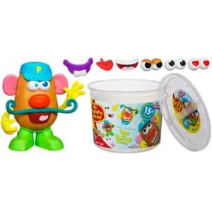 Amazon Com Playskool Mr Potato Head Tater Tub Set Toys